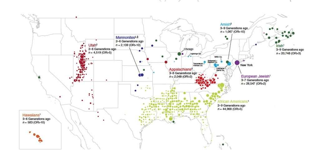 Massive Genetic Study Maps Us Migration History   Iflscience avec Location Sci