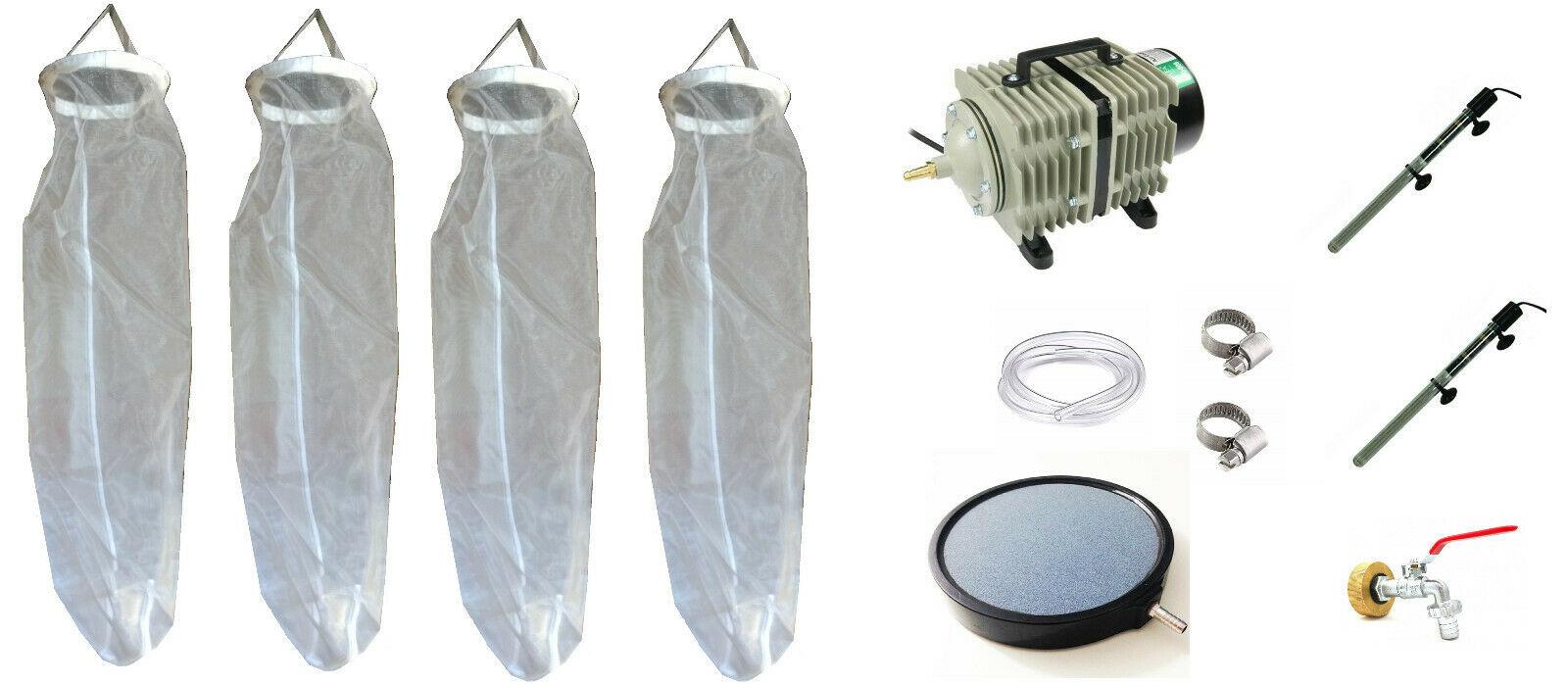 Matériel Tco Pour Cuve 1000L Pompe Ac300A Thé Compost Aéré avec Robinet Pour Cuve 1000L