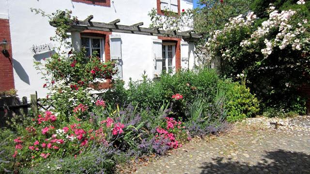 Matin Lumineux: Grand Chamboulement Au Jardin! à Parterre Devant Maison