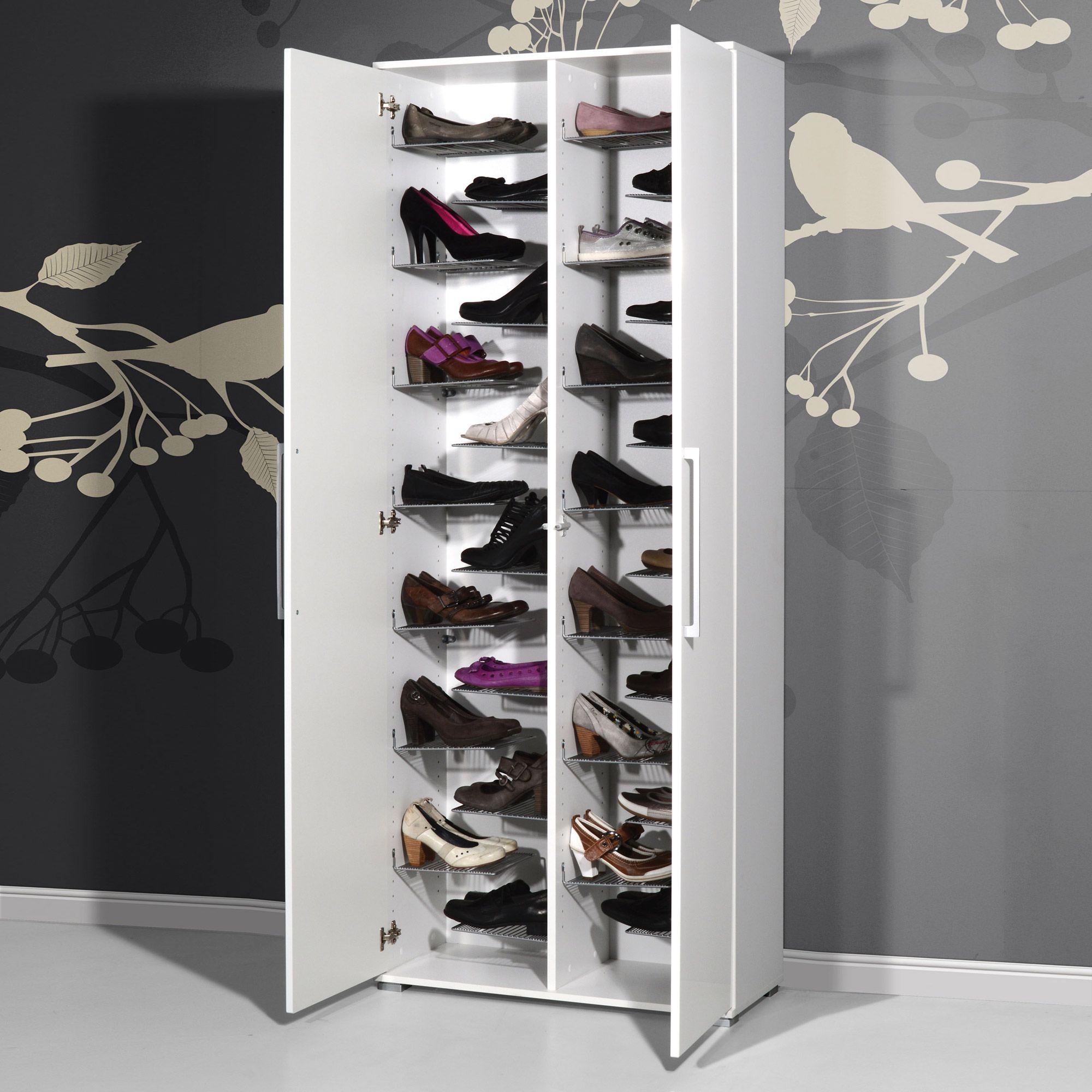 Meuble Chaussures Grande Capacité | Idées De Décoration dedans Grand Meuble Chaussure