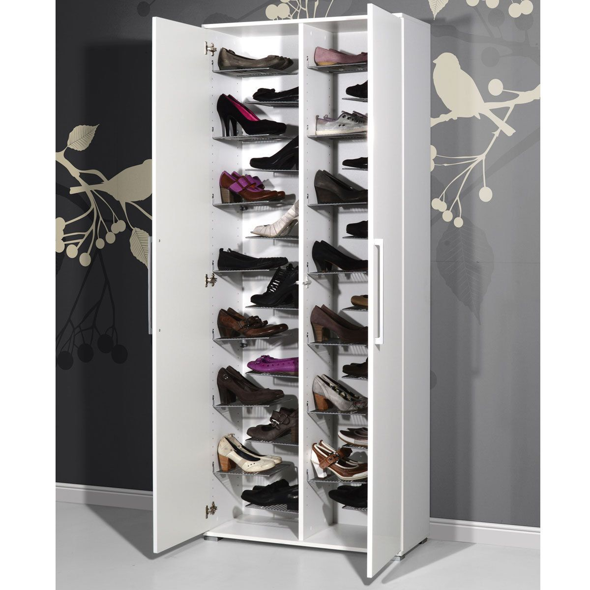 Meuble Chaussures Meuble À Chaussures Stiletto Blanc Meuble encequiconcerne Meuble À Chaussures Fly