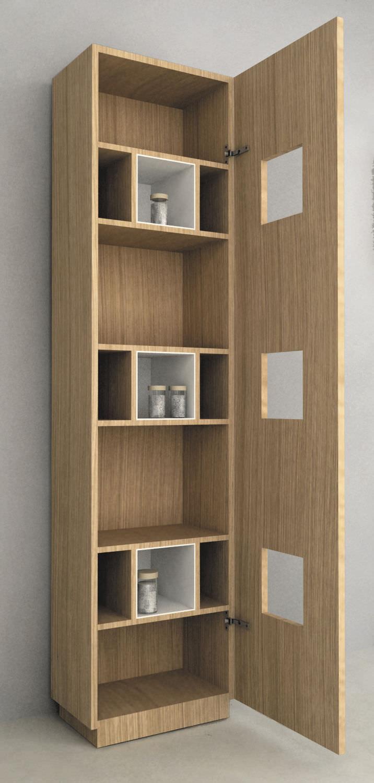 Meuble De Rangement Mural - Mod. Cube - Componendo - Pour tout Placard Mural Salle De Bain ...