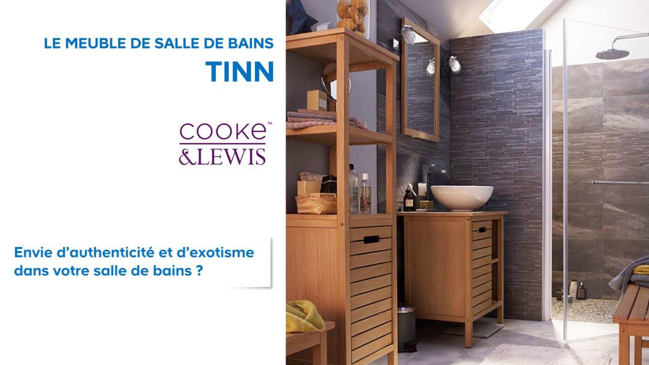 Meuble De Salle De Bains Tinn Cooke & Lewis (667048 pour Don De Meuble