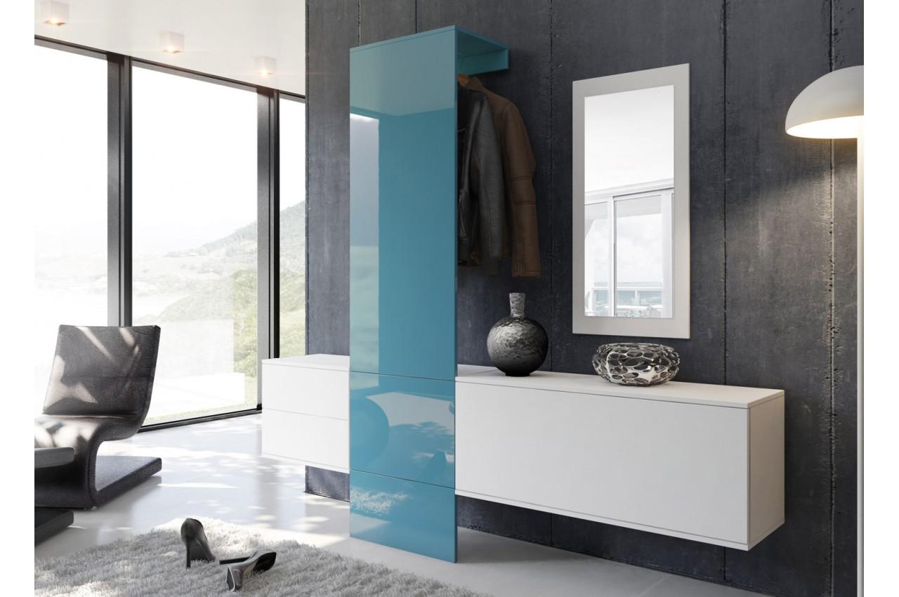 Meuble D'Entrée Vestiaire Design - Trendymobilier dedans Meuble D'Entrée