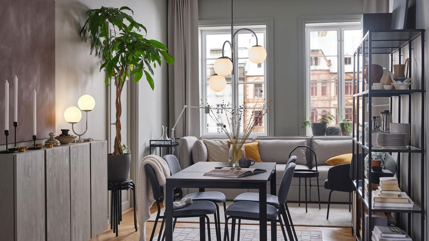 Meuble Salle À Manger : Tables, Chaises, Et Plus - Ikea avec Tables Salle À Manger Ikea
