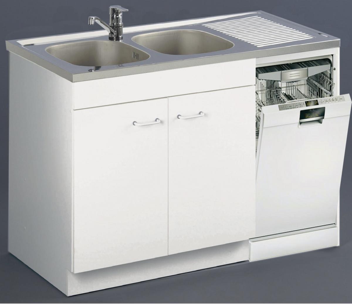 Meuble Sous-Évier Spécial Lave-Vaisselle Aquarine Aquarine concernant Meuble Sous Evier 60 Cm