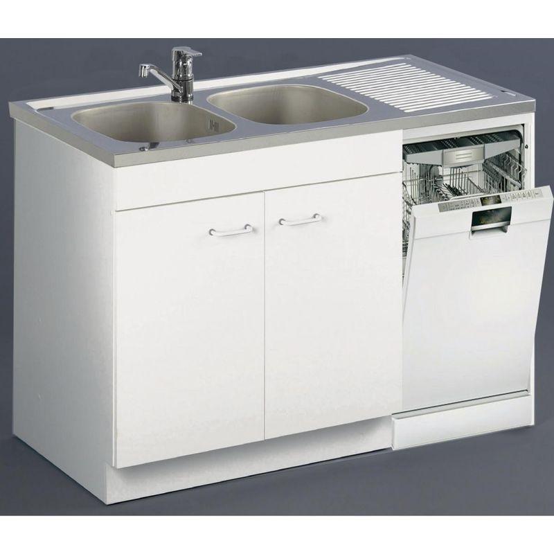 Meuble Sous-Évier Spécial Lave-Vaisselle Aquarine - Long dedans Meuble Sous-Évier 120 Brico Dépôt