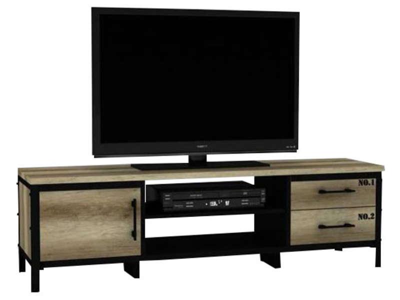 Meuble Tv Arty - Vente De Meuble Tv - Conforama pour Meuble Tv Sono
