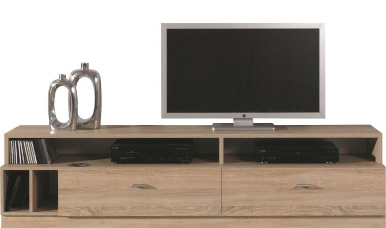 Meuble Tv Bas Contemporain pour Meuble Tele Moderne
