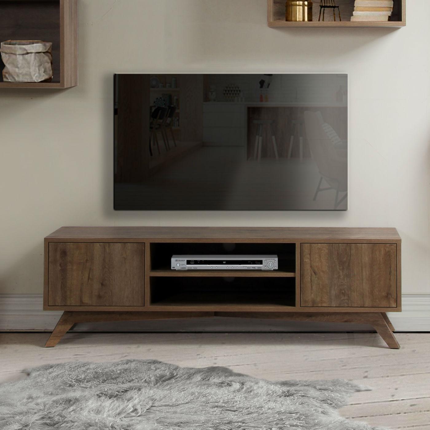 Meuble Tv Design Scandinave - Brin D'Ouest avec Meubles Tv But
