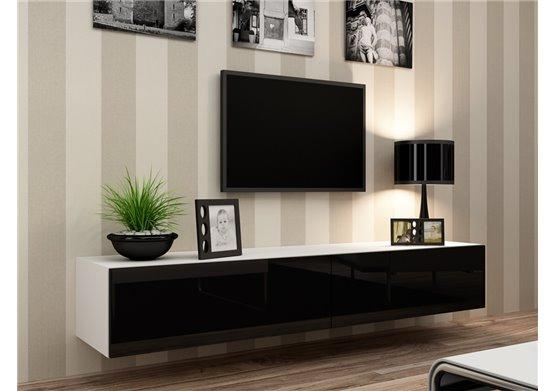 Meuble Tv Design Suspendu Vito 180Cm - Chloe Design concernant Meubles Tv But
