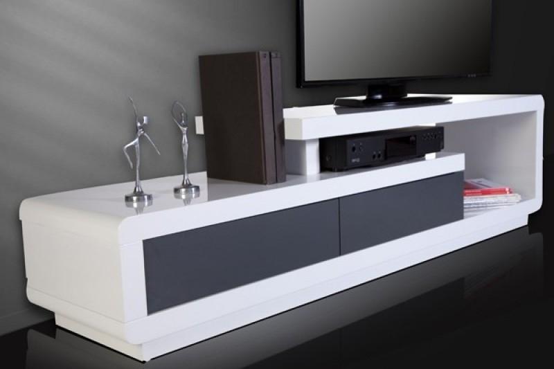 Meuble Tv Haut De Gamme Blanc avec Meuble Tv Haut