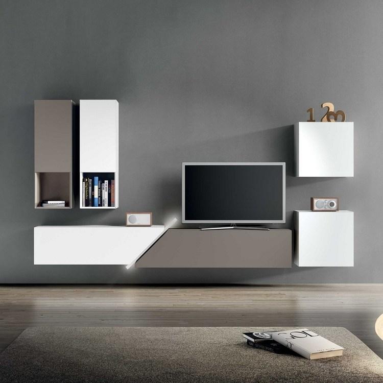 Meuble Tv Moderne - 30 Designs Uniques Et Conseils Pratiques à Meuble Tele Moderne