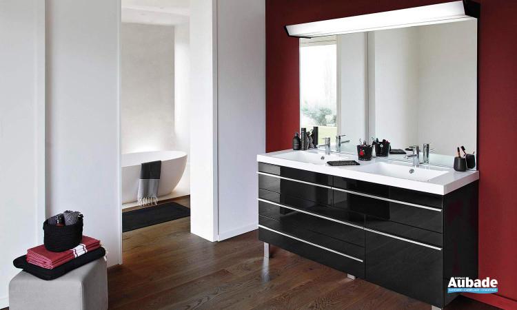 Meubles Salle De Bains Design Decotec Rivoli   Espace Aubade destiné Meuble Vasque Design Italien