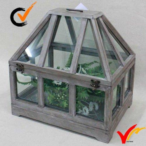 Mini Serre De Jardin En Bois D'Intérieur Vintage De Style dedans Serre Interieur