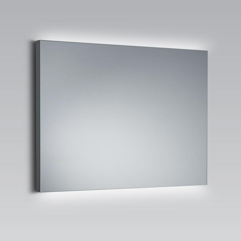 Miroir Rectangulaire À Éclairage Led, Disponible En 4 Tailles pour Mirroir Salle De Bain