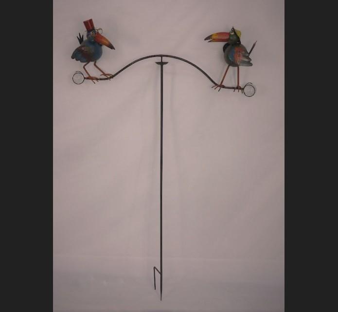 Mobile Corbeau Couleur Fer Forgé Métal Traité Décoration à Deco Metal Jardin