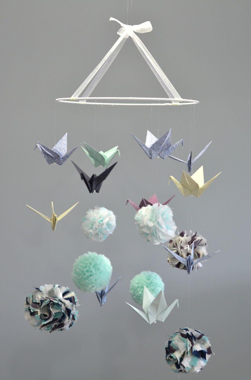 Mobile Vert D'Eau, Mauve Et Bleu / Modèle Déposé / Sur tout Chambre Des Métiers De L Ain