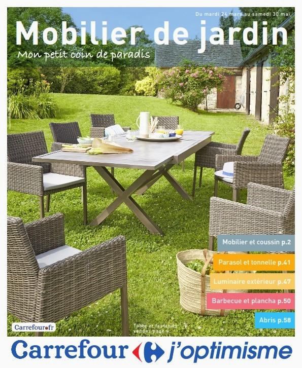 Mobilier De Jardin Chez Hyper U - Mailleraye.fr Jardin intérieur Salon De Jardin Carrefour
