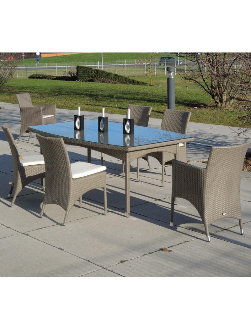 Mobilier De Jardin : Table De Jardin Hedone En Résine dedans Kettler Table De Jardin