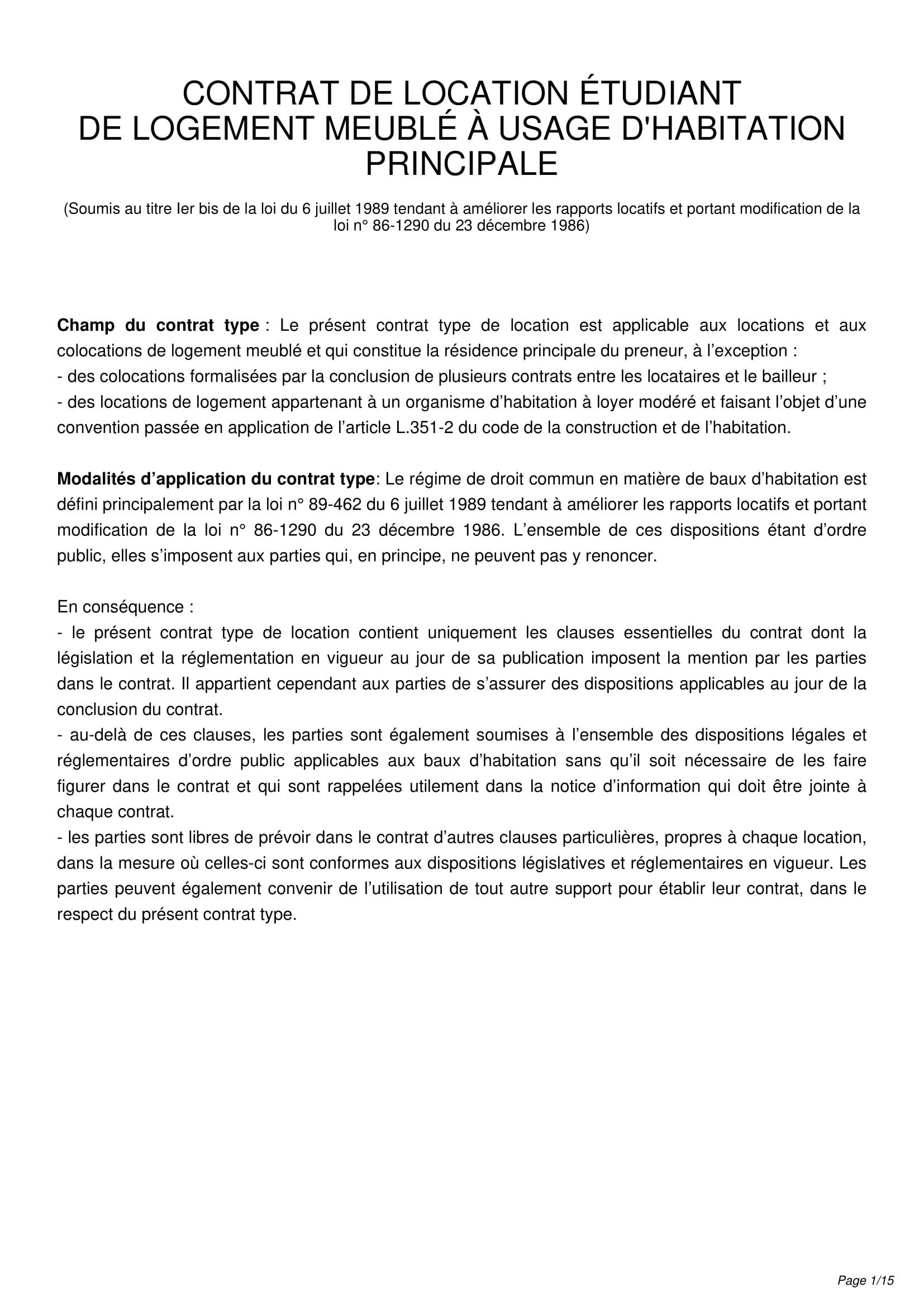 Modele Bail Etudiant Conforme Alur Dedans Contrat De Location Meuble Gratuit Agencecormierdelauniere Com Agencecormierdelauniere Com