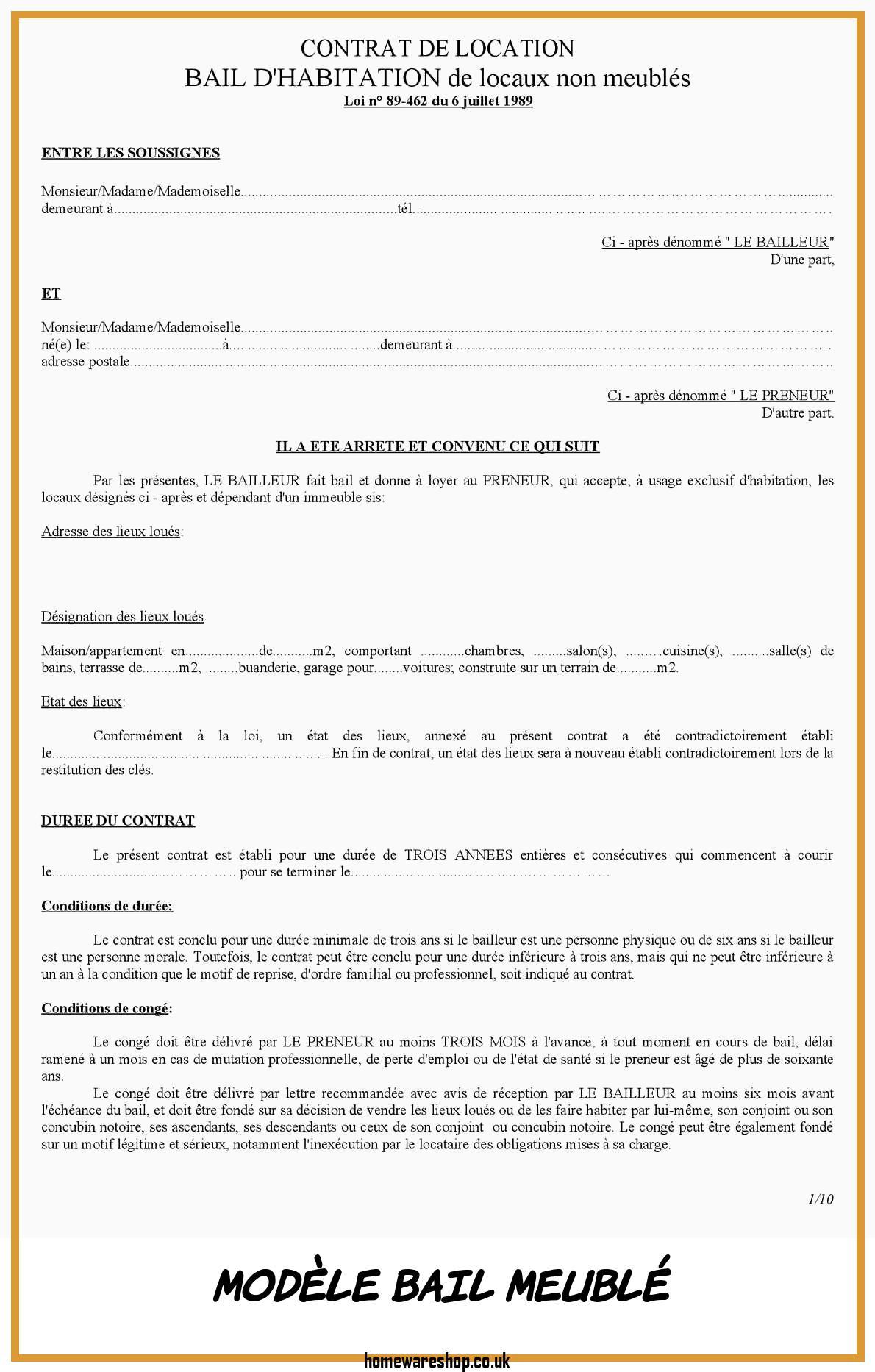 Modele Bail Location Gratuit Imprimer Homewareshop Encequiconcerne Contrat De Location Meuble Gratuit Agencecormierdelauniere Com Agencecormierdelauniere Com