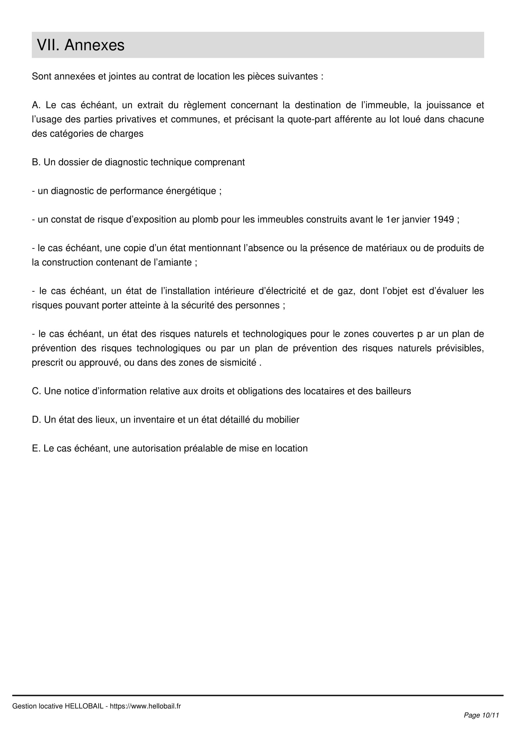 Modèle Bail Mobilité : Contrat De Location Courte Durée De 1 concernant Location Meublée Courte Durée