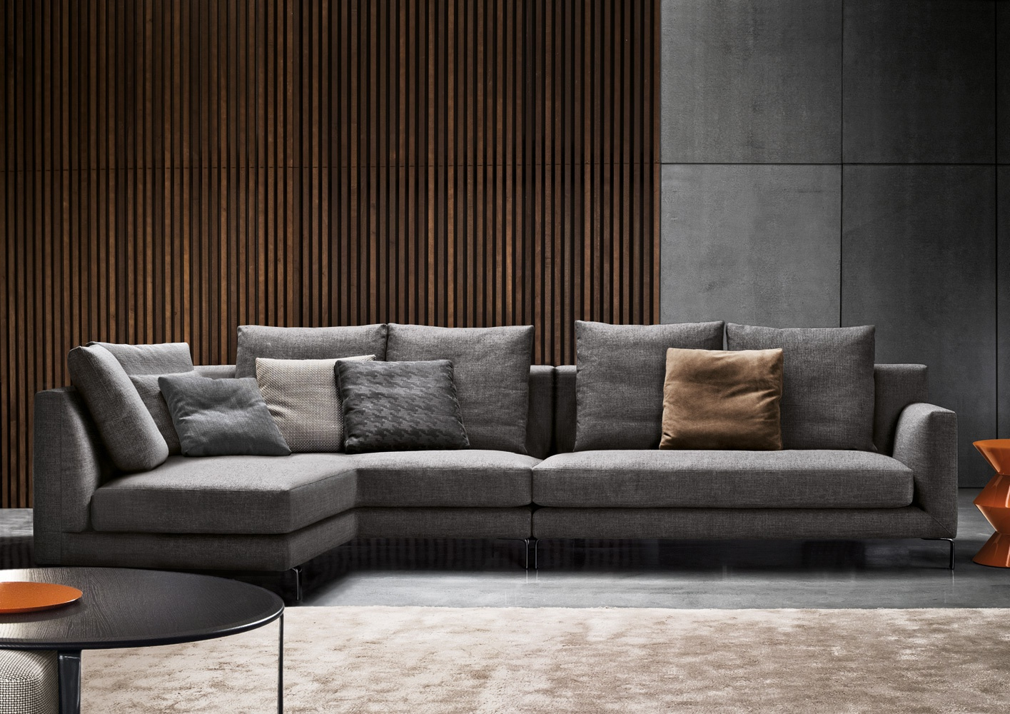 Modular Sofa Allen Minotti - Luxury Furniture Mr avec Sofa