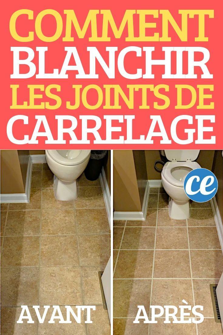 Mon Astuce Ultra Facile Pour Blanchir Les Joints De concernant Comment Nettoyer Des Joints De Salle De Bain