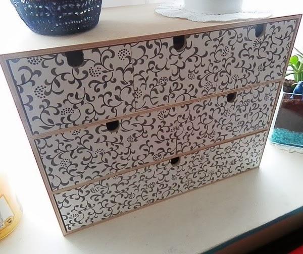 Moppe, Ma Version - Caro Dels - Blog Diy Et Loisirs Créatifs tout Revêtement Adhésif Pour Meuble Ikea