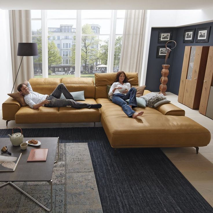 Musterring Leder-Wohnlandschaft Mr 2490 In Braun | Möbel encequiconcerne Mobel Braun