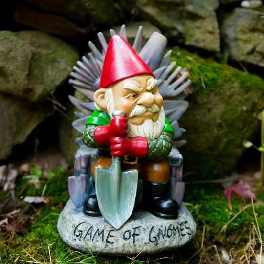 Nain De Jardin Game Of Gnomes À 24,95 concernant Nain De Jardin Géant