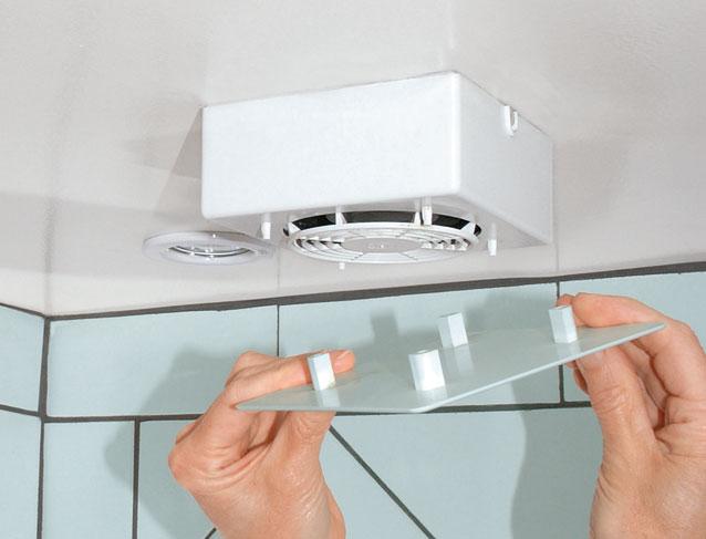 Nettoyer Un Aérateur De Salle De Bains encequiconcerne Ventilation Salle De Bain