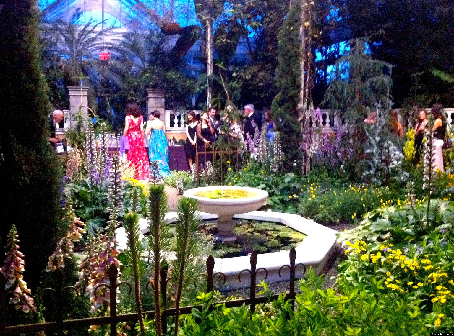 New York Botanical Garden Conservatory Ball 2013: An tout Opbouw Tuinhuis Gardenas New York