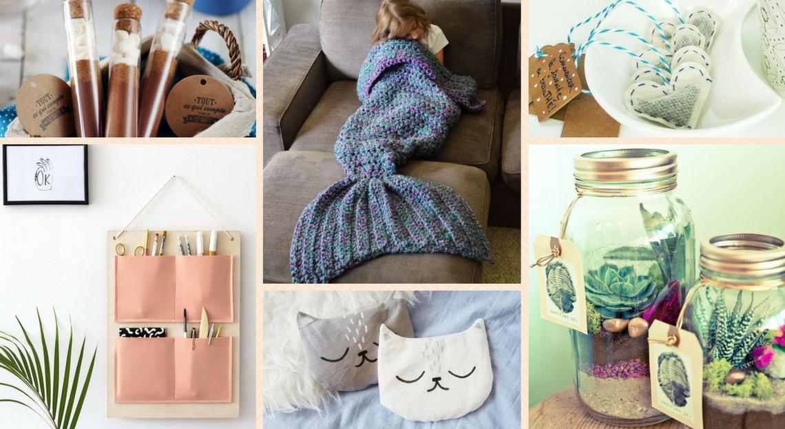 Noël : 15 Idées Cadeaux Diy À Prix Mini à Idée Cadeau Jardin