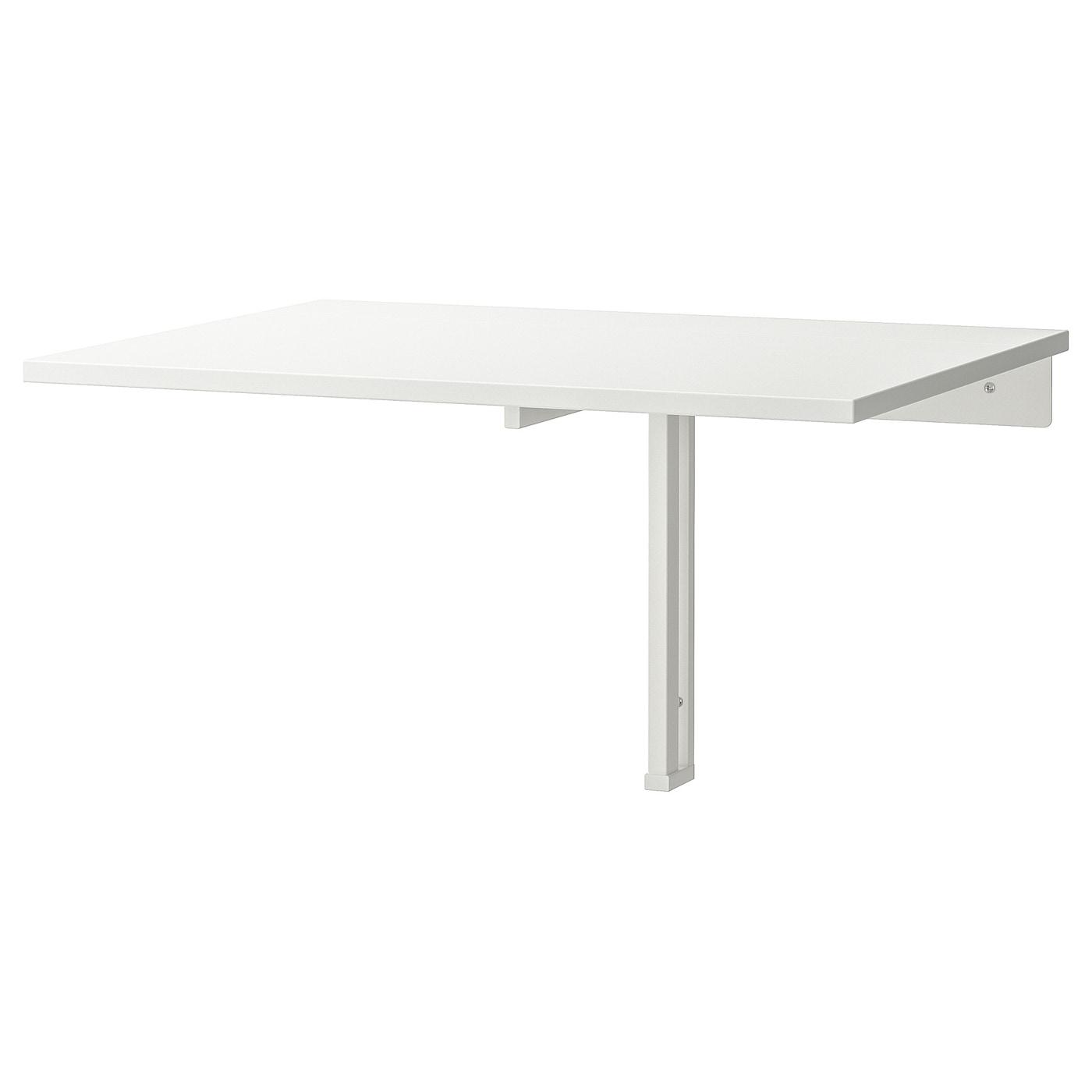 Norberg Table Murale À Rabat - Blanc 74X60 Cm à Table Salle A Manger Pliante Ikea