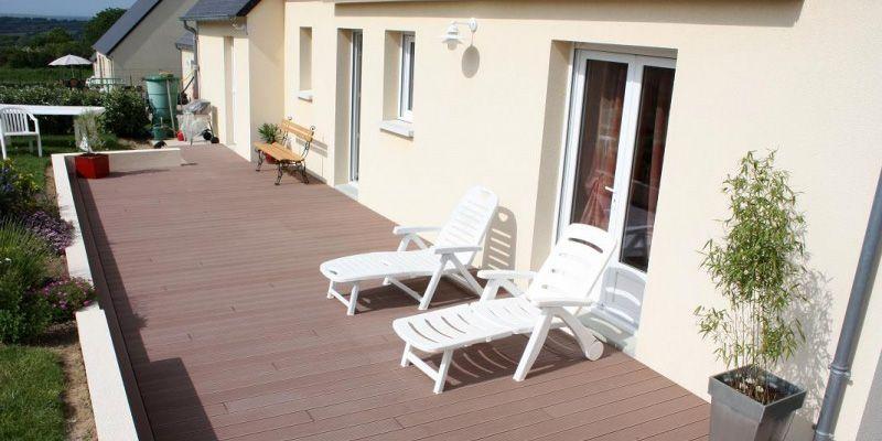 Nous Aménageons Vos Extérieurs De Maison Et Vos Terrasses intérieur Idées Terrasses Extérieures
