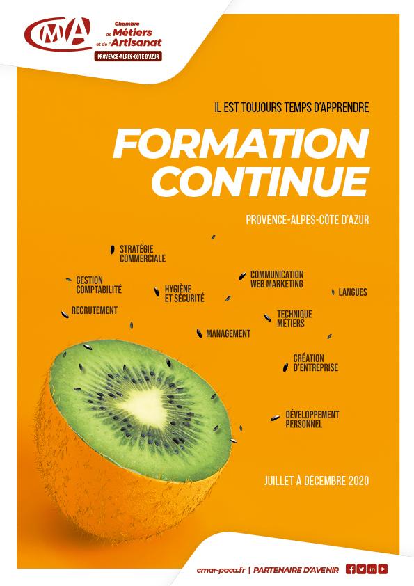 Nouveau Catalogue Des Formations 2020 | Chambre De Métiers tout Stage Chambre Des Métiers