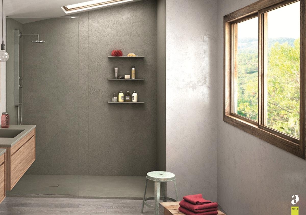 Panneaux Muraux Pour Votre Salle De Bain & Espaces De Douche concernant Panneau Composite Salle De Bain