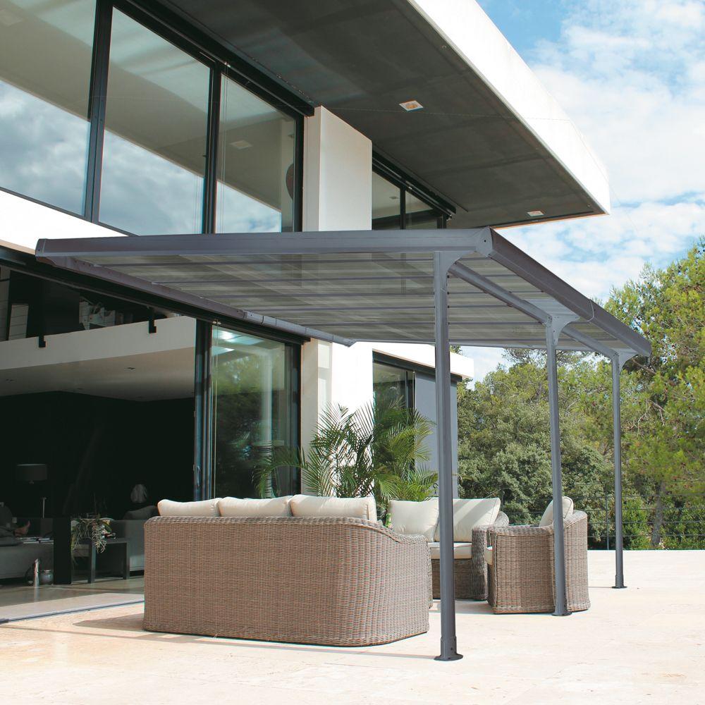 Pergola Bois 4X4 - Maison Parallele intérieur Tonnelle De Jardin Castorama