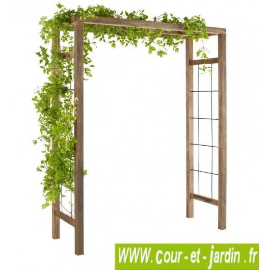 Pergola De Jardin Décorative, En Bois, Pergola, Arche De dedans Arche De Jardin En Bois