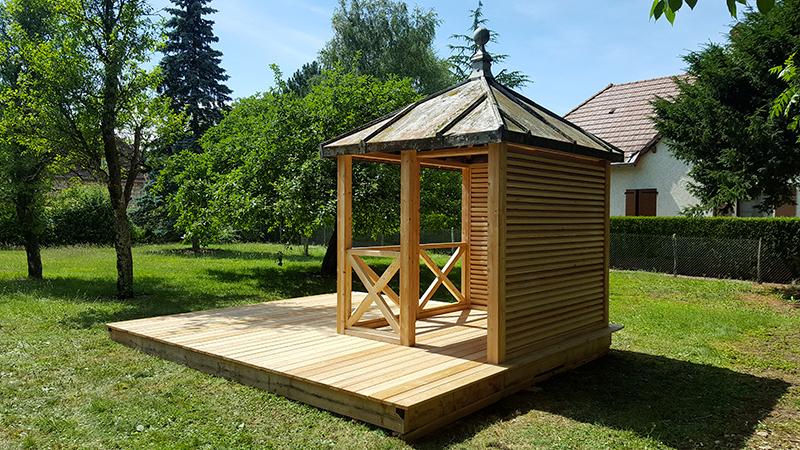Pergola,Abri De Jardin, Amenagement Terrasse, Bois dedans Abris De Jardin Sur Mesure