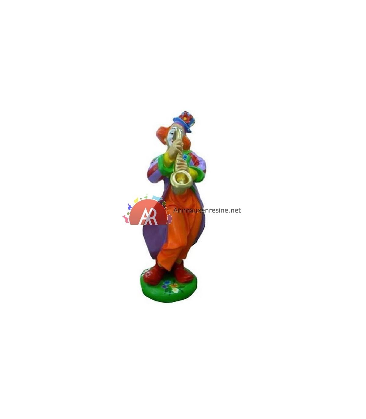 Personnage En Resine Clown Dimitri Grand Modèle tout Nain De Jardin Fuck
