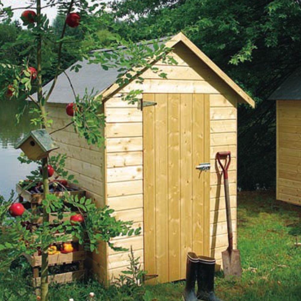 Petit Abri De Jardin Bois Avec Plancher 2,47 M² Ep. 12 Mm dedans Faire Un Abri De Jardin