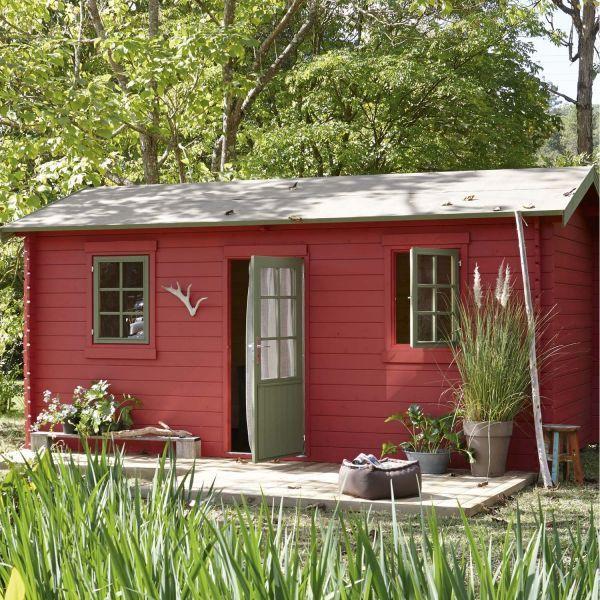 Petit Cottage Anglais | Abri De Jardin En Bois Par Leroy à Petit Cabanon De Jardin