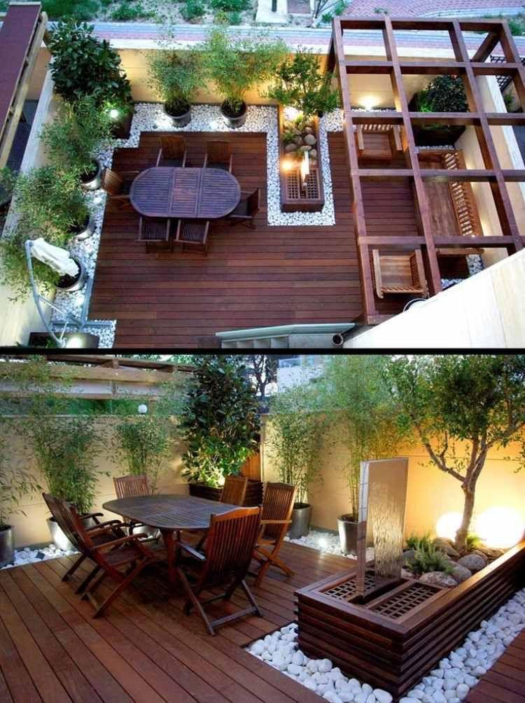 Petit Jardin: Idées D'Aménagement, Déco Et Astuces concernant Petit Cabanon De Jardin