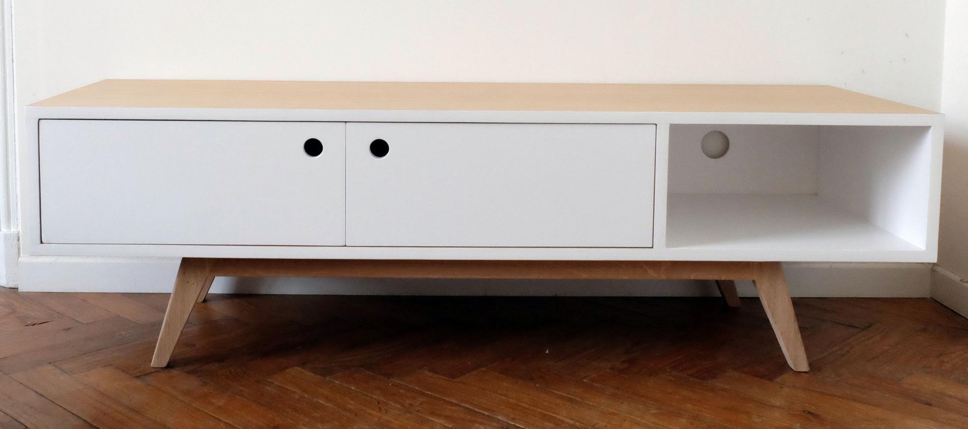 Petit Meuble Tv Scandinave – Bricolage Maison Et Décoration tout Meuble Tv Scandinave Pas Cher