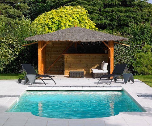 Photos Déco : Idées Décoration De Carrelage De Piscines serapportantà Idees Pool House Piscine