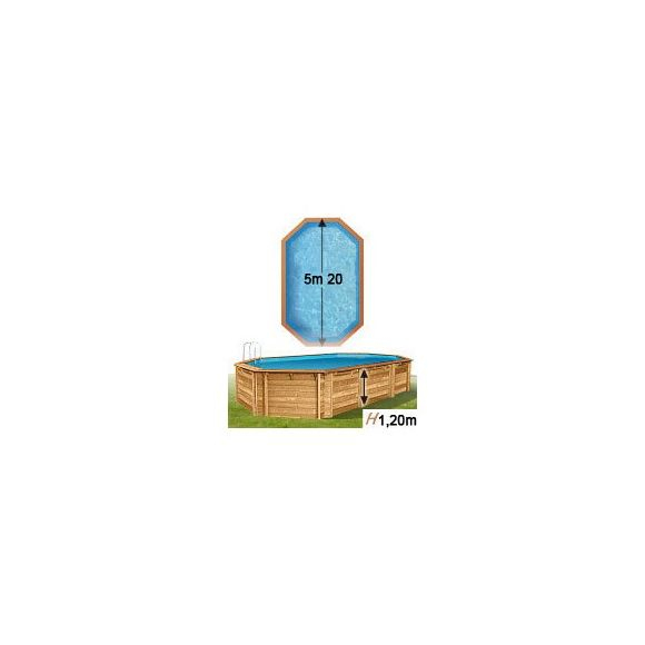Piscine Center O'Clair - Piscine En Bois Woodfirst Cerland tout Piscine Woodfirst