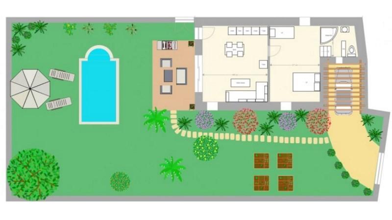 Plan De Maison Gratuit - Logiciel Archifacile destiné Logiciel Plan De Jardin